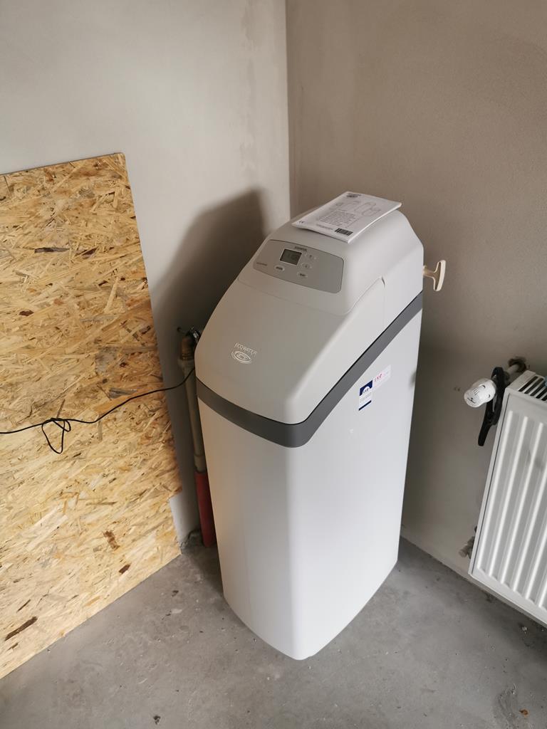 Zmiękczacz wody ECOWATER Comfort 500 dla budynku przedszkola - montaż w Krzeszowicach