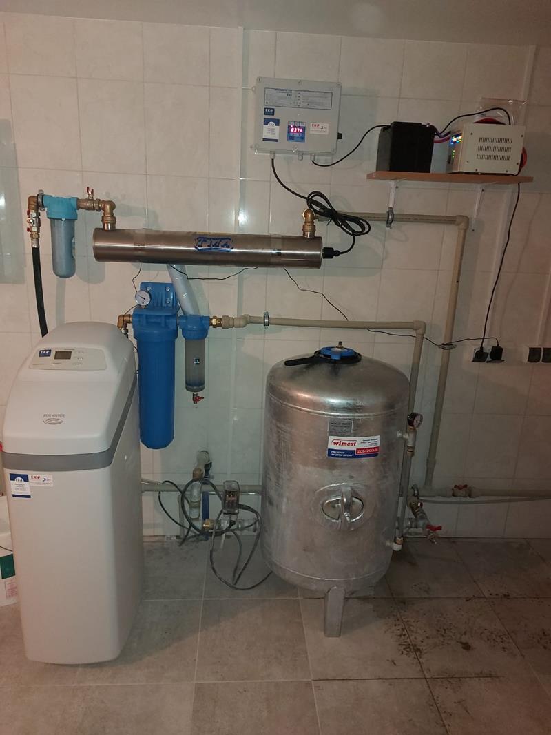 Zmiękczacz wody ECOWATER Comfort 500 dla domu jednorodzinnnego - montaż w Raciechowice