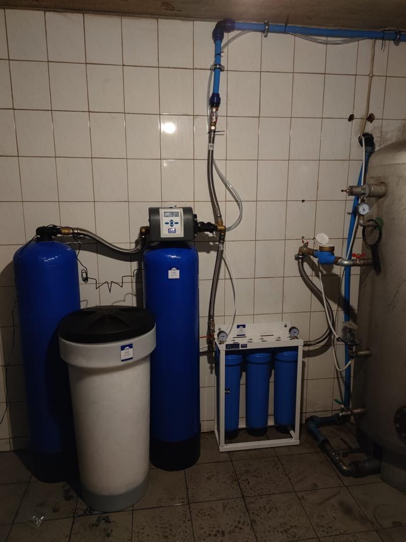 Zmiękczacz wody do pracy ciągłej CLACK WS1-TT TWIN
